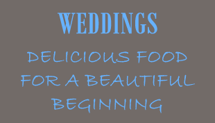 Weddings - Delicious Food for a Beautiful Beginning - Two Brothers Bar-B-Q