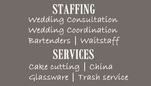 Wedding Staffing & Services - Two Brothers Bar-B-Q