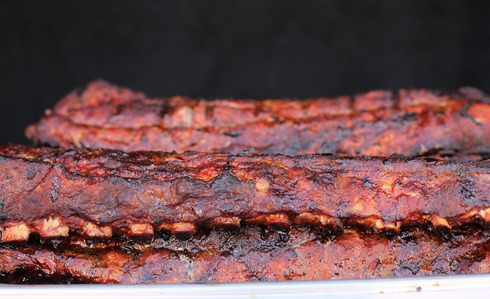 Ribs from Two Brothers Bar-B-Q