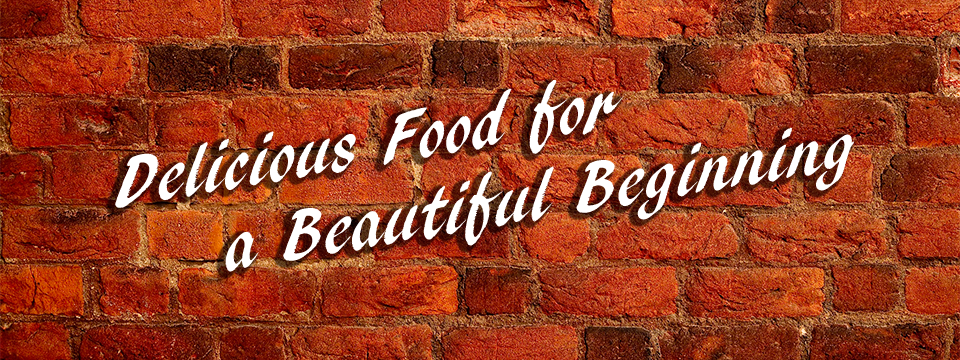 Delicious Food for a Beautiful Beginning - Weddings catered by Two Brothers Bar-B-Q