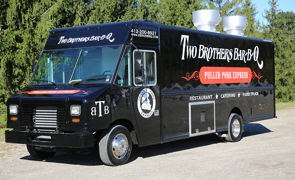 Two Brother's Bar-B-Q Food Truck - Pulled Pork Express